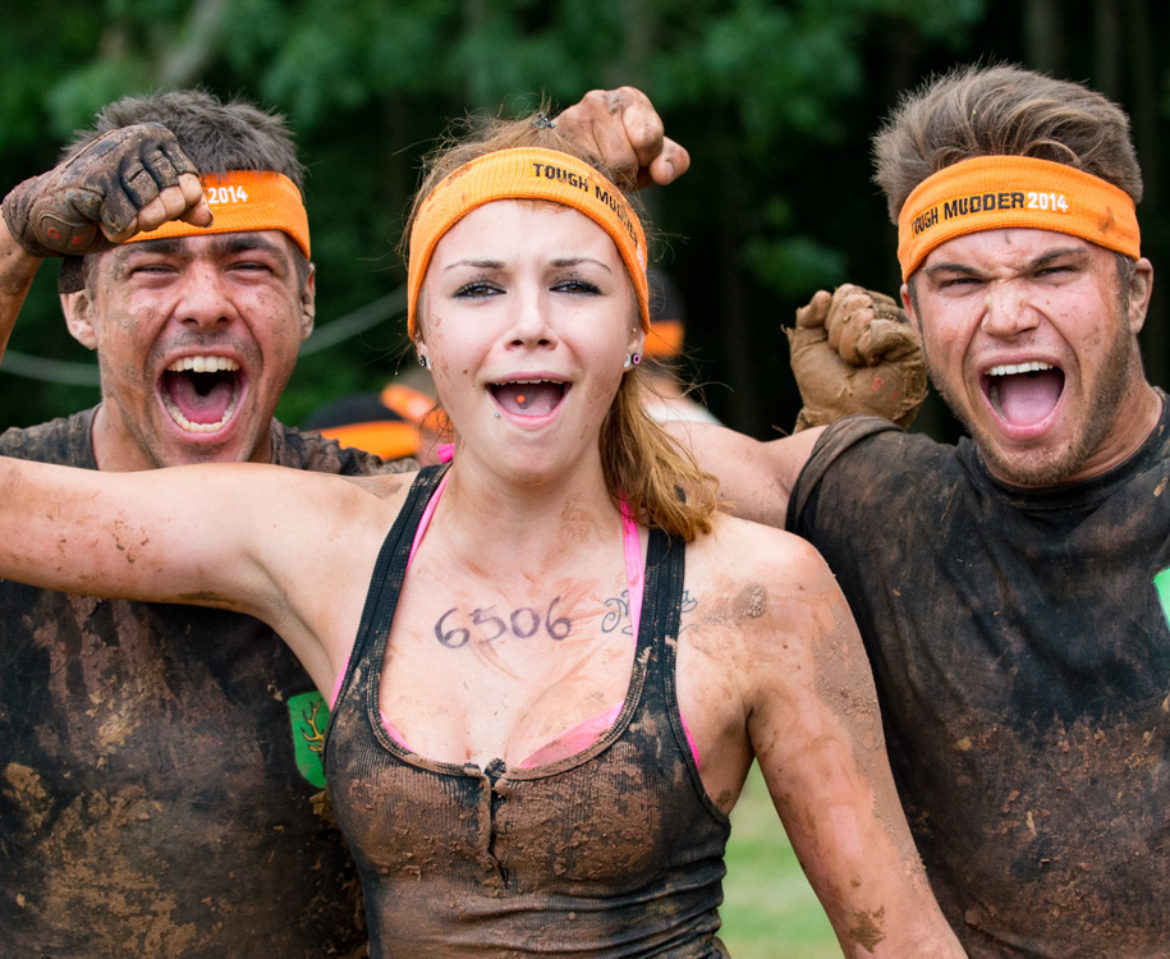 Tough Mudder/ Volvic Branding