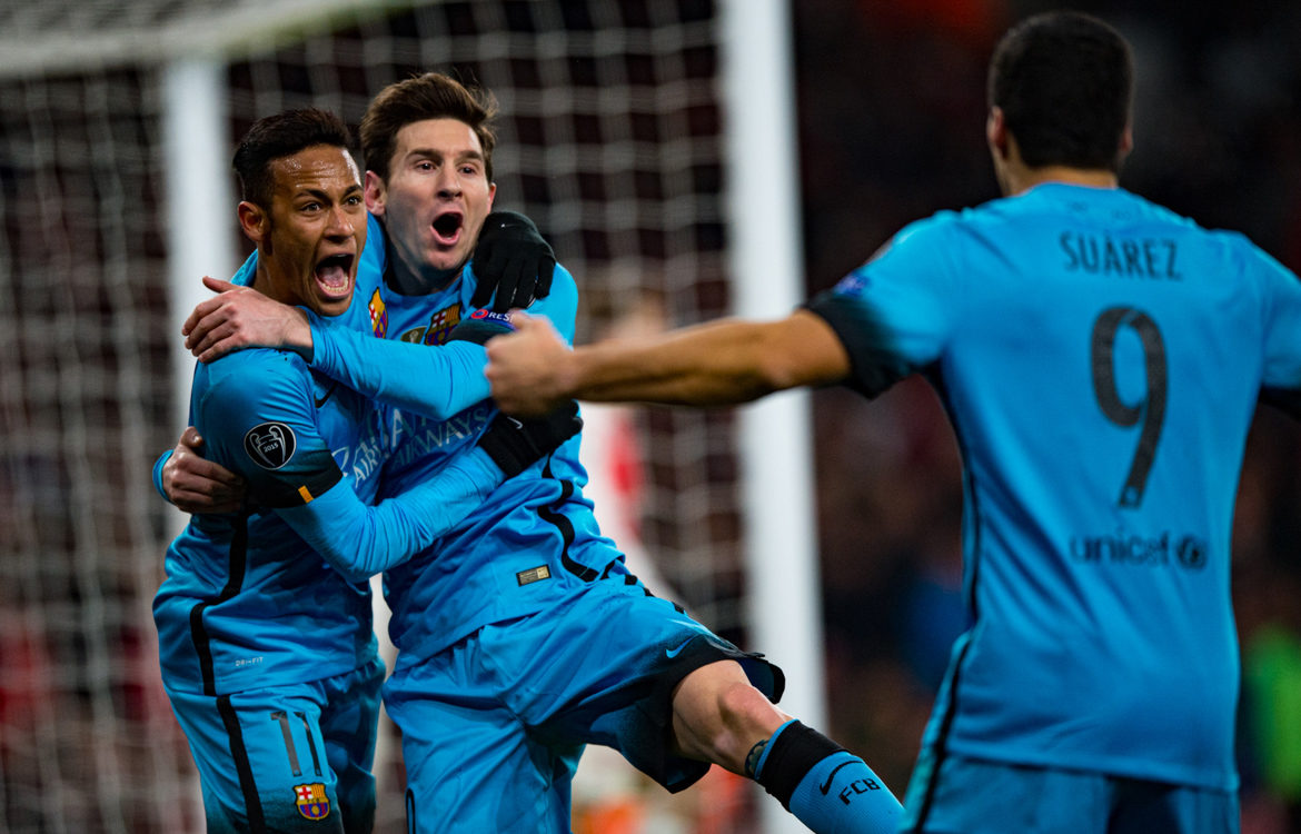 Arsenal v Barcelona, UEFA Cup, February 2016 – A Messi spectacular!