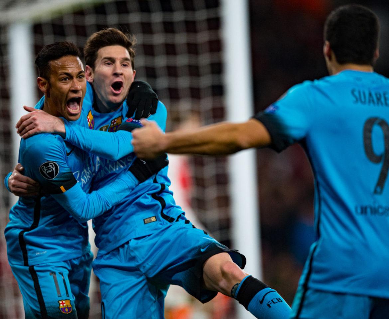 Arsenal v Barcelona, UEFA Cup, February 2016 – A Messi spectacular!